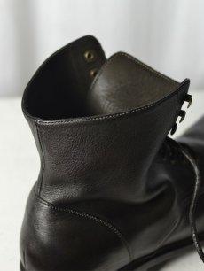 画像6: 【Christian Peau - クリスチャンポー】CPD CHUKKAS 001 / Cow Leather / Black(レースアップシューズ/ブラック) (6)