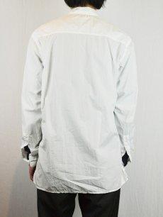 画像5: 【Christian Peau - クリスチャンポー】CP SHIRT D  / White(シャツ/ホワイト) (5)