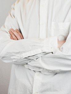 画像9: 【Christian Peau - クリスチャンポー】CP SHIRT D  / White(シャツ/ホワイト) (9)
