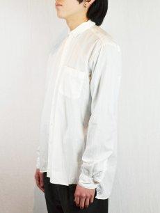 画像4: 【Christian Peau - クリスチャンポー】CP SHIRT D  / White(シャツ/ホワイト) (4)