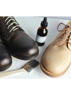 画像9: 【Christian Peau - クリスチャンポー】SOM 901 / Cow Leather / CRUST(ダービーシューズ/クラスト/染色キット付属) (9)