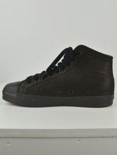 画像5: 【Christian Peau - クリスチャンポー】High Top Sneaker / Lizard / Black(スニーカー/リザードブラック) (5)
