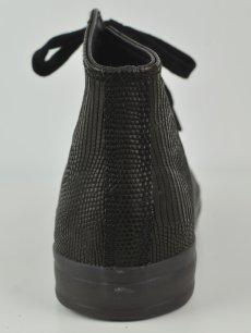 画像4: 【Christian Peau - クリスチャンポー】High Top Sneaker / Lizard / Black(スニーカー/リザードブラック) (4)