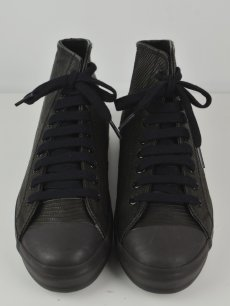 画像3: 【Christian Peau - クリスチャンポー】High Top Sneaker / Lizard / Black(スニーカー/リザードブラック) (3)