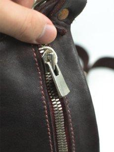 """画像3: 【GUIDI - グイディ】""""Q10"""" Belt Bag / Soft Horse Full Grain / Burgundy (バッグ/バーガンディ) (3)"""