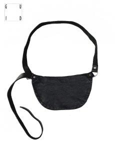 """画像3: 【GUIDI - グイディ】""""Q100"""" Belt Bag / Soft Horse Full Grain / Black (バッグ/ブラック) (3)"""