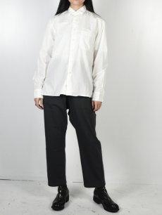 画像3: 【Christian Peau - クリスチャンポー】CP SHIRT D  / White(シャツ/ホワイト) (3)