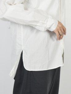 画像11: 【Christian Peau - クリスチャンポー】CP SHIRT D  / White(シャツ/ホワイト) (11)