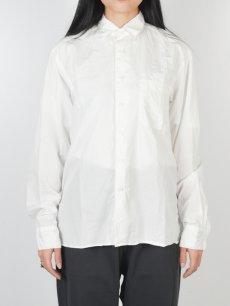 画像2: 【Christian Peau - クリスチャンポー】CP SHIRT D  / White(シャツ/ホワイト) (2)