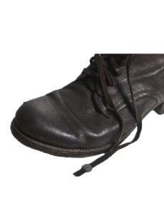 画像6: 【Christian Peau - クリスチャンポー】CP TR 106DH MIDDLE / cow Leather(BCW) / Dark GERNET(レースアップブーツ/ダークガーネット) (6)