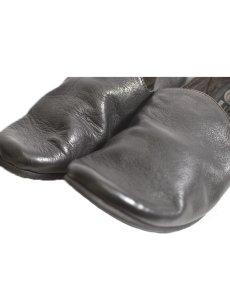 画像4: 【Christian Peau - クリスチャンポー】CP SLIPON / cow Leather / Black(スリッポンシューズ/ブラック) (4)