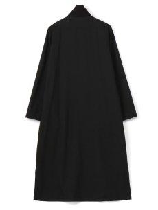 画像2: 【Ground Y  - グラウンドワイ】Rib Collar Long Shirt / Black(シャツ/ブラック)  (2)