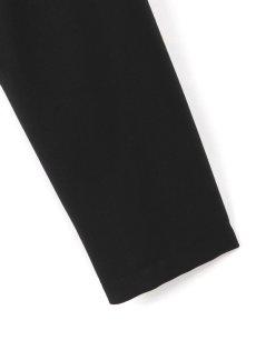 画像6: 【Ground Y  - グラウンドワイ】Rib Collar Long Shirt / Black(シャツ/ブラック)  (6)