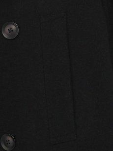 画像4: 【Ground Y  - グラウンドワイ】Vintage Flannel Big Pea Coat / Black (コート/ブラック)  (4)
