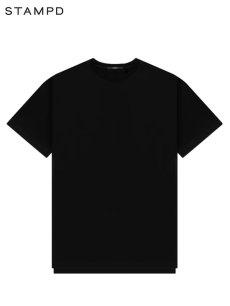 画像1: 【STAMPD - スタンプド】Double Layer Tee / Black (Tシャツ/ブラック) (1)