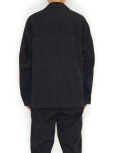 画像3: 【White Mountaineering - ホワイトマウンテニアリング】Solotex Lapel Jacket  / Black (ジャケット/ブラック) (3)