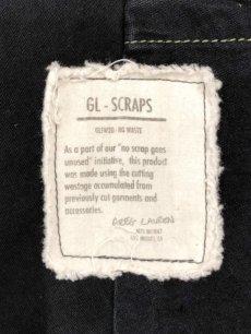 画像6: 【GREG LAUREN - グレッグローレン】 Tent Scrapwork Ollie / Black (ジャケット/ブラック) (6)