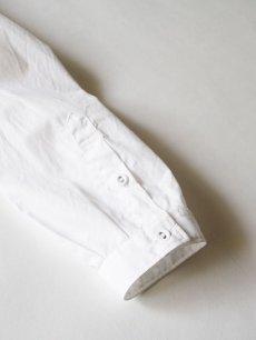 画像4: 【White Mountaineering - ホワイトマウンテニアリング】WR BROAD SHIRT / WHITE  (シャツ/ホワイト) (4)