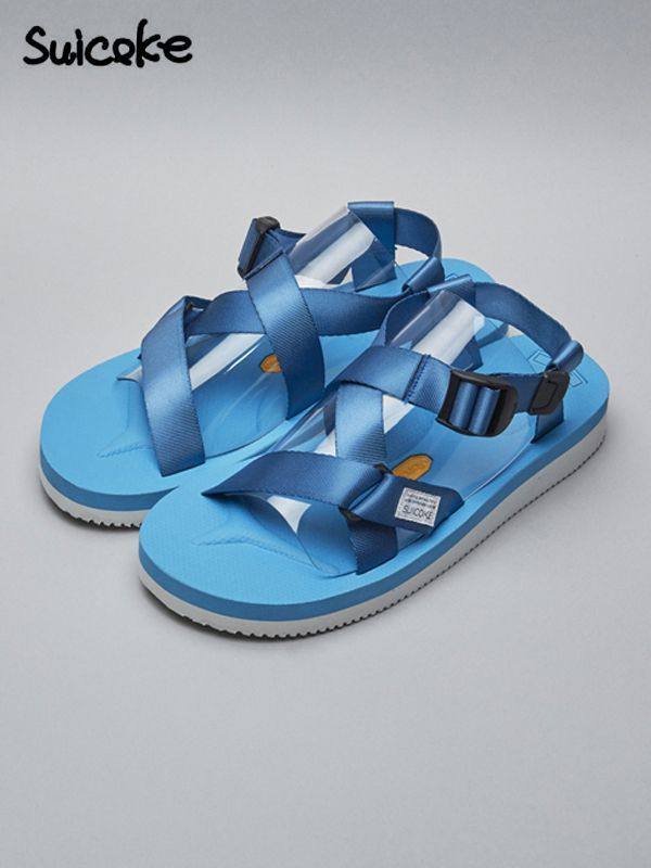 画像1: 50%OFF【SUICOKE-スイコック】CHIN2-V/BLUE(サンダル/ブルー) (1)