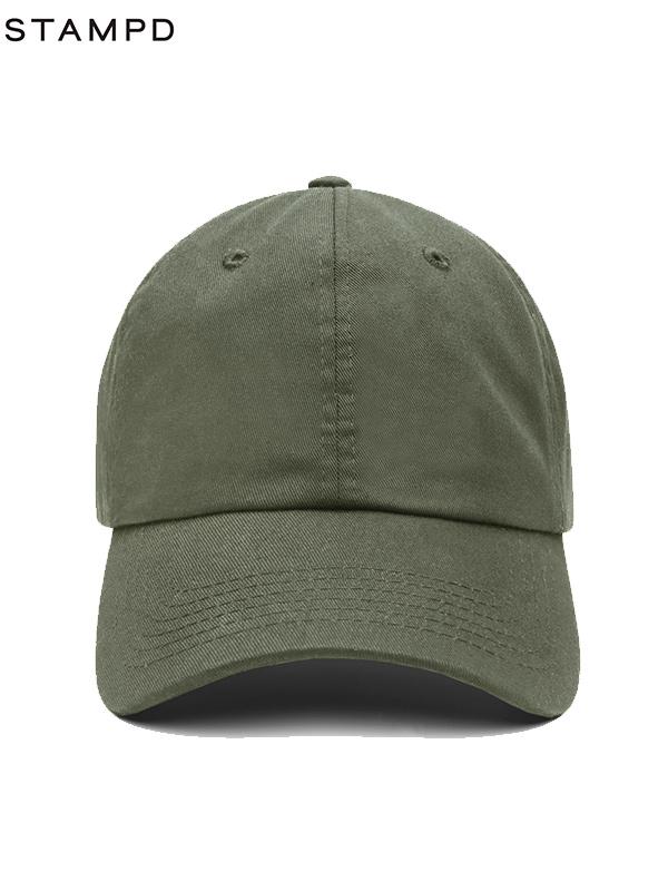画像1: 【STAMPD - スタンプド】SOMEWHERE CALI HAT/OLIVE(キャップ/オリーブ) (1)