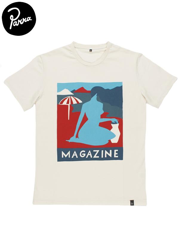 """画像1: 【by Parra - バイ パラ】T-shirt """"GIRL MAGAZINE""""/Natural(Tシャツ/ナチュラル) (1)"""