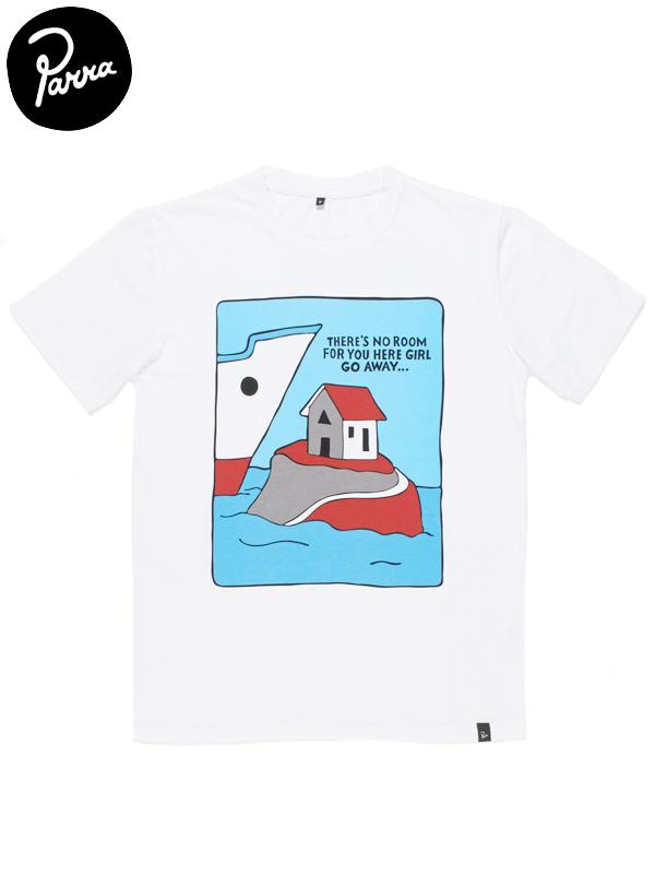 """画像1: 20%OFF【by Parra - バイ パラ】T-shirt """"LITTLE ROOM""""/White(Tシャツ/ホワイト) (1)"""