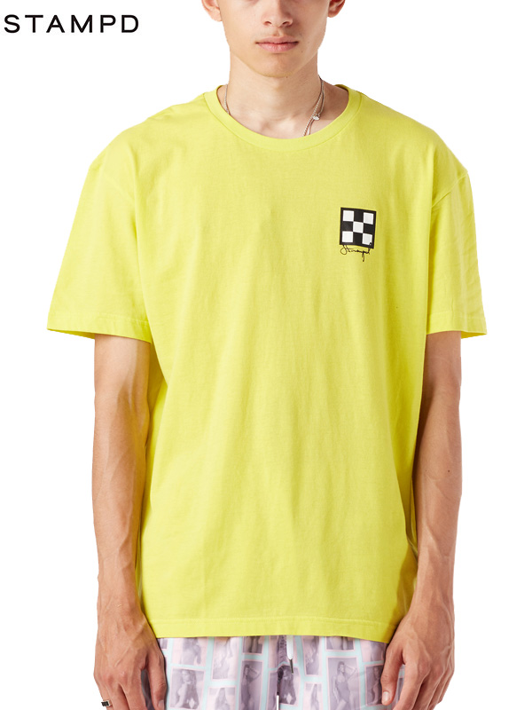 画像1: 40%OFF【STAMPD - スタンプド】GOOD TURN SHORT SLEEVE TEE / YELLOW(Tシャツ/イエロー) (1)