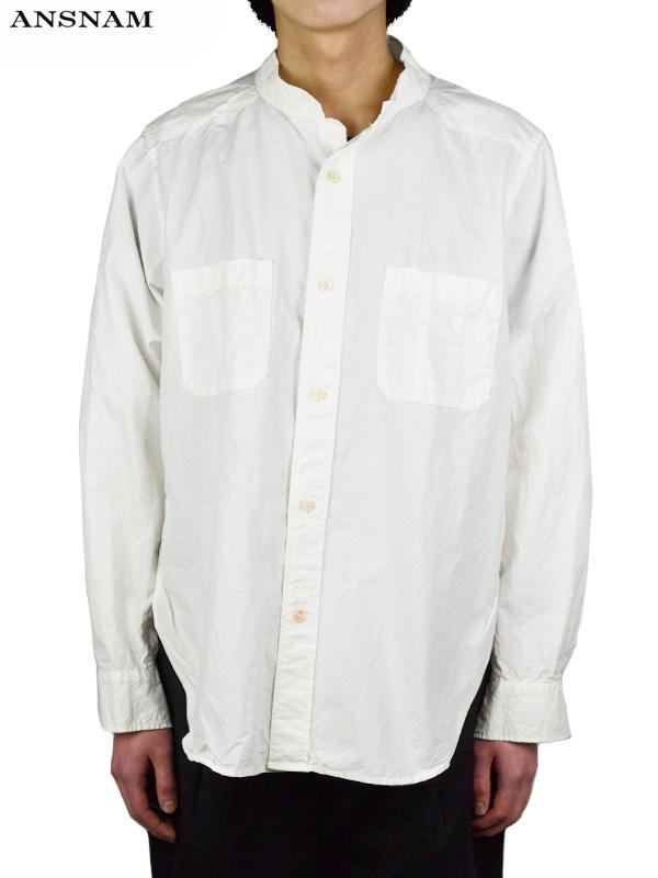 画像1: 【ANSNAM - アンスナム】Western Shirt / White(シャツ/ホワイト) (1)