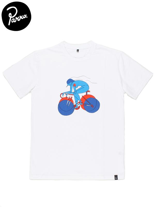 """画像1: 【by Parra - バイ パラ】T-shirt """"break away girl""""/White(Tシャツ/ホワイト) (1)"""