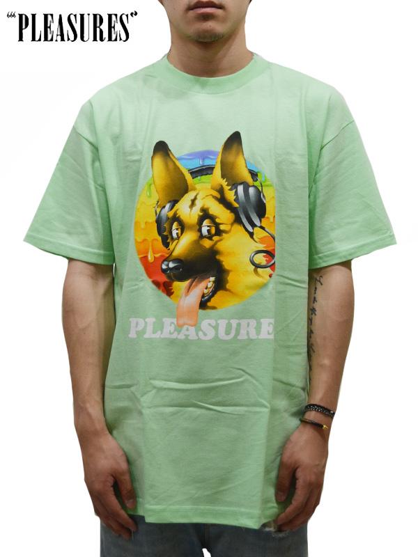 画像1: 30%OFF【PLEASURES - プレジャーズ】DEAD DOG T-SHIRT / Mint (Tee/ミント) (1)