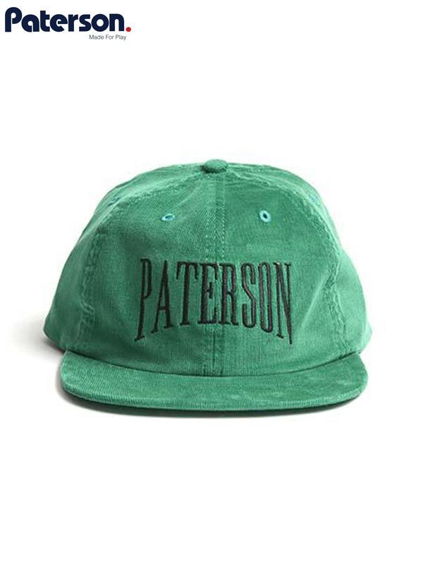 画像1: 20%OFF【PATERSON - パターソン】Euro Gap Corduroy Hat/Green(キャップ/グリーン) (1)
