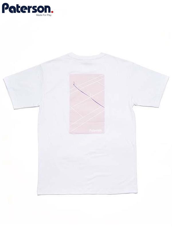 画像1: 50%OFF【PATERSON - パターソン】Court Crop Tee/ White(Tシャツ/ホワイト)  (1)