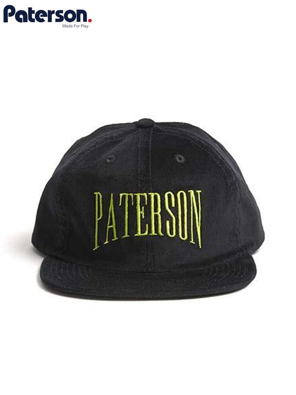 画像1: 20%OFF【PATERSON - パターソン】Euro Gap Corduroy Hat/Black(キャップ/ブラック) (1)