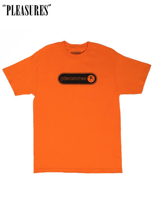 画像1: 【PLEASURES - プレジャーズ】VENOM T-SHIRT / Orange (Tee/オレンジ) (1)