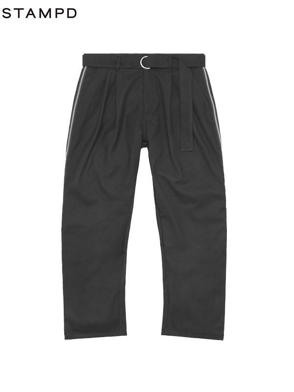 画像1: 50%OFF【STAMPD - スタンプド】Berlin Zip Trouser/ Black (ボトムス/ブラック) (1)
