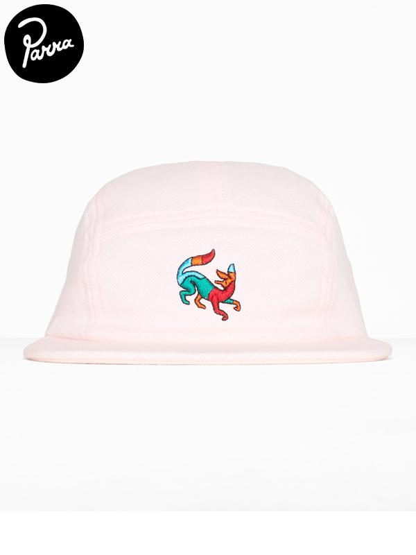 """画像1: 【by Parra - バイ パラ】5 panel """"volley hat confused fox""""/Pink(キャップ/ピンク) (1)"""