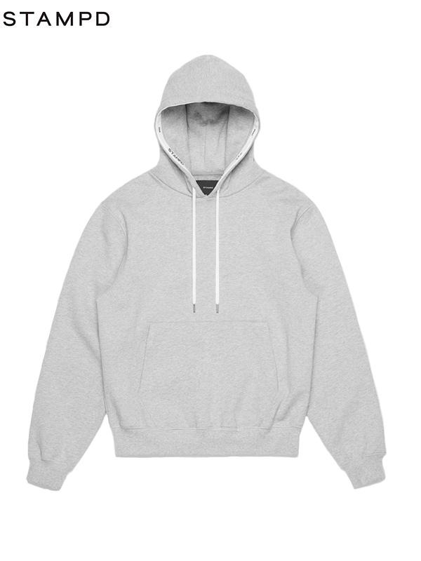 画像1: 30%OFF【STAMPD - スタンプド】Post hoodie / Grey (パーカー/グレイ) (1)