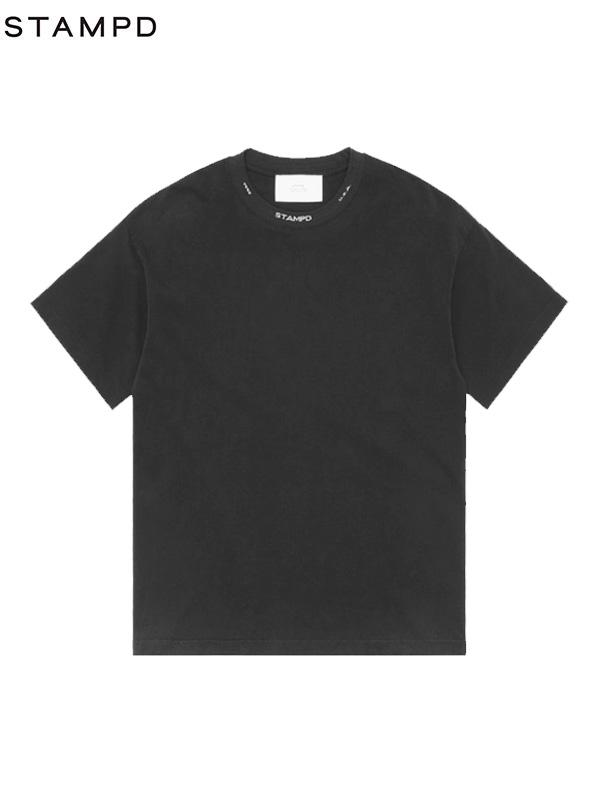 画像1: 【STAMPD - スタンプド】Gale S/S  Tee/ Black (Tシャツ/ブラック) (1)