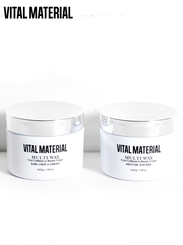 画像1: 【VITAL MATERIAL - ヴィタルマテリアル】MULTI WAX / マルチワックス(アールグレイ&グリーン/ペパーミント) (1)