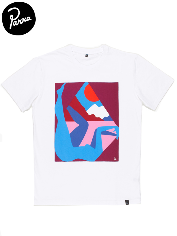 """画像1: 【by Parra - バイ パラ】T-shirt """"new sealand window""""/White(Tシャツ/ホワイト) (1)"""
