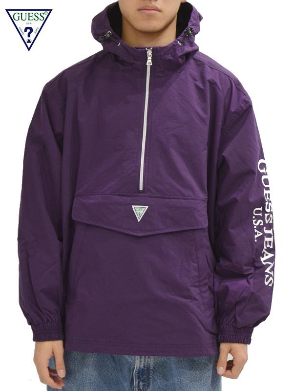 画像1: 【GUESS GREEN LABEL】Guess Anorack Jacket/ Purple(ジャケット/パープル) (1)