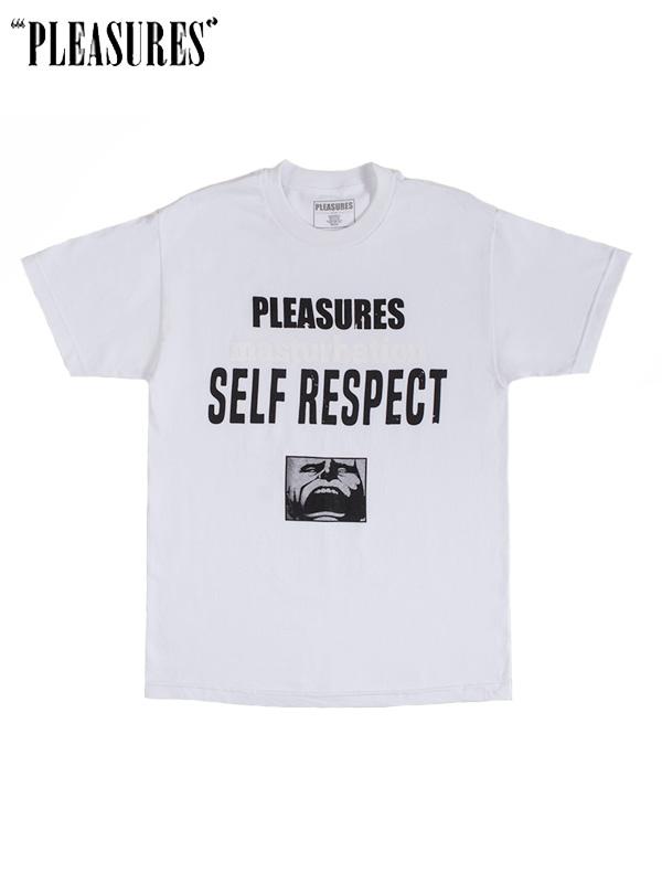画像1: 【PLEASURES - プレジャーズ】Self Respect Tee /White(Tee/ホワイト) (1)