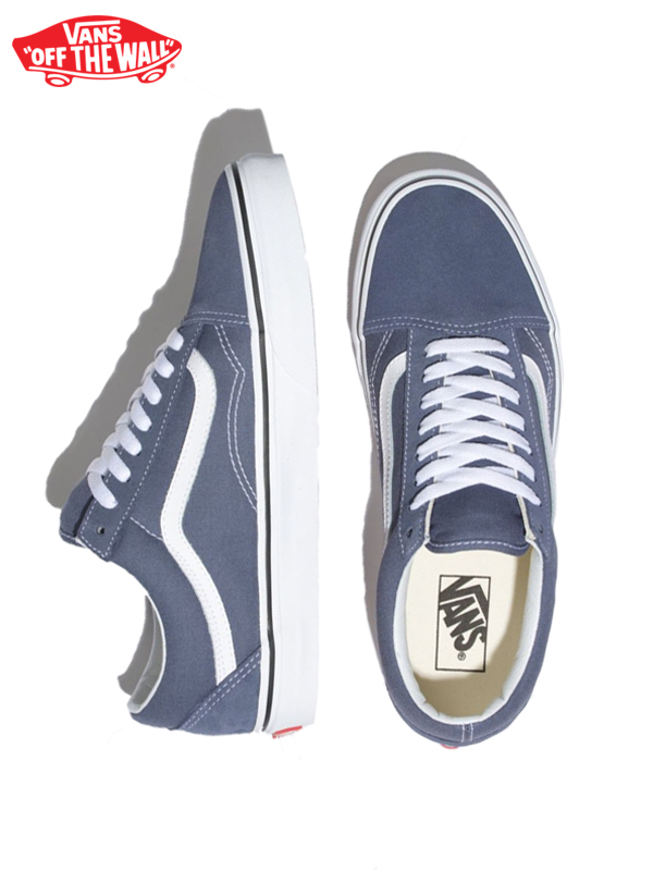 画像1: 20%OFF【VANS - ヴァンズ】UA OLD SKOOL /(SIDESTRIPE V) GRISAILLE/TRUE WHITE (スニーカー/グリザイユ) (1)