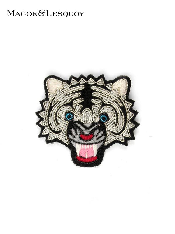 画像1: 【MACON&LESQUOY - マコン エ レスコア】Tiger head  (ブローチ/タイガーヘッド) (1)