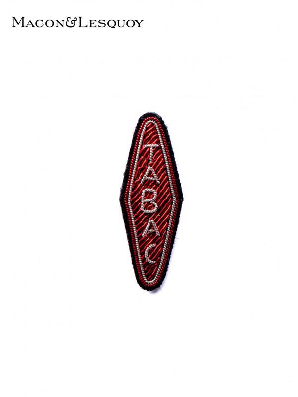 画像1: 【MACON&LESQUOY - マコン エ レスコア】TABACCO (ブローチ/サイン) (1)