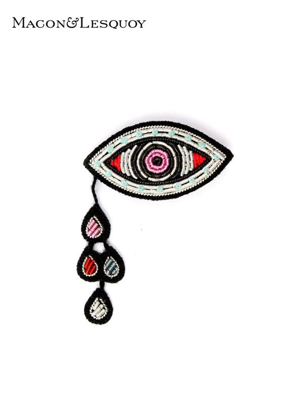 画像1: 【MACON&LESQUOY - マコン エ レスコア】Eye and drops(ブローチ/眼) (1)