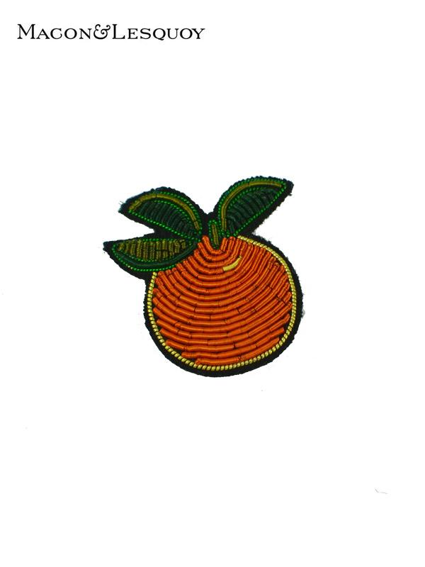 画像1: 【MACON&LESQUOY - マコン エ レスコア】Orange(ブローチ/オレンジ) (1)