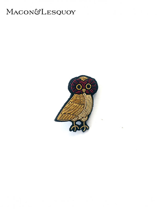 画像1: 【MACON&LESQUOY - マコン エ レスコア】OWL (ブローチ/オウル) (1)