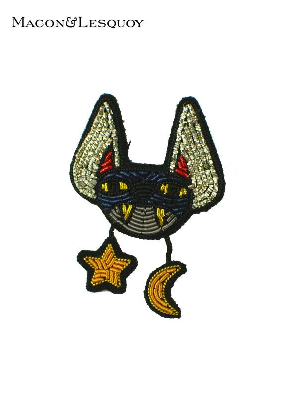 画像1: 【MACON&LESQUOY - マコン エ レスコア】Bat(ブローチ/バット) (1)