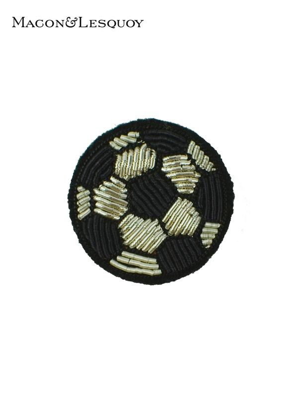 画像1: 【MACON&LESQUOY - マコン エ レスコア】Soccer Ball(ブローチ/アサッカーボール) (1)